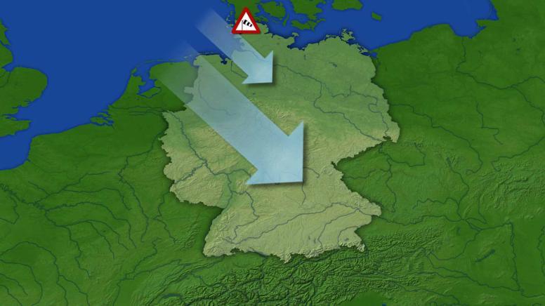 Wetter Deutschland Wind Und Wolken Tagesschaude